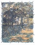 Blackthorpe Trees by Janet French, Artist Print