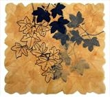 Field Maple leaves by Janet French, Artist Print