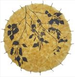 Silver Birch Circle I by Janet French, Artist Print