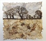 Winter Field by Janet French, Artist Print